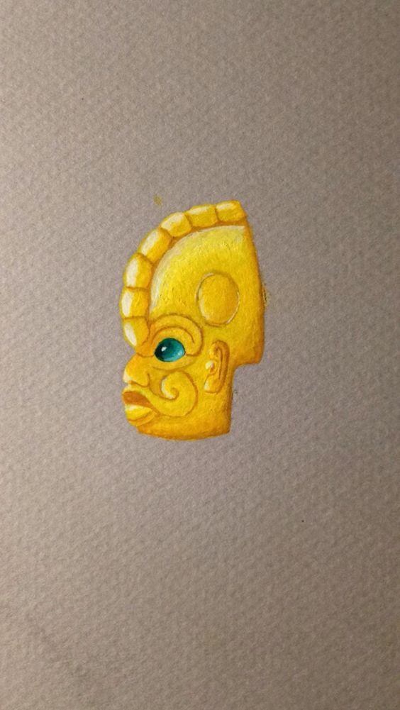 Masque aztèque