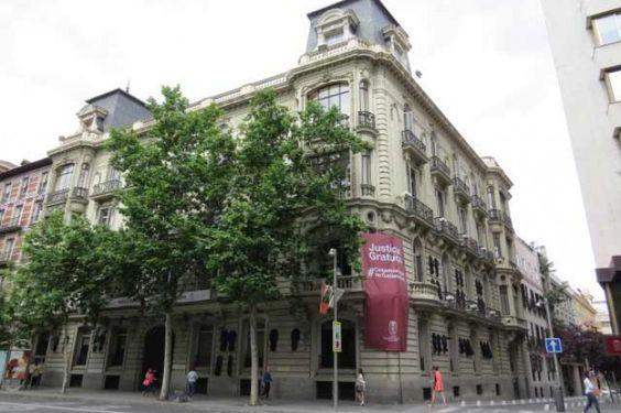imagenes FACHADA COLEGIO ABOGADOS MADRID | Casa-Palacio del Marqués de Portazgo