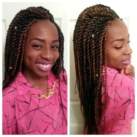Long senegalese twists with kanekalon hair | Hair ...