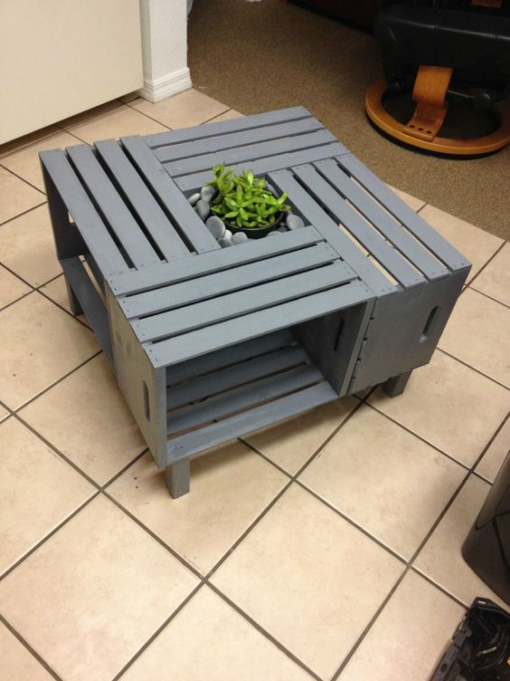 This Simple Coffee Table Can Be Put Together For Under 50 And It