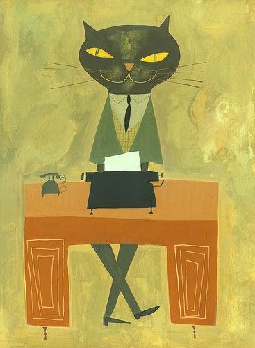 Business cat: