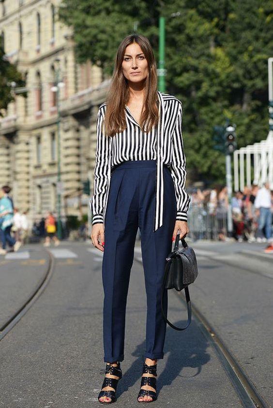 Cofundadora da marca Attico, Giorgia Tordini foge dos padrões do street style. Com estilo elegante e clássico, ela se destaca por vestir looks mais reais.