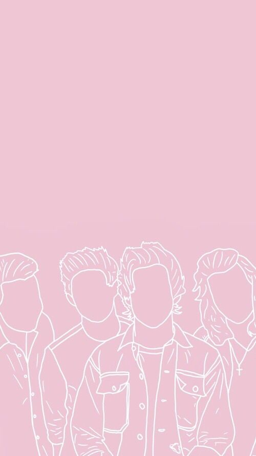 Image About Pink In Waℓℓraryeyaѕ By Pauliina On We Heart It One Direction Wallpaper Pink Lock Screen Wallpaper Pink Aesthetic