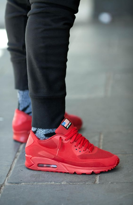 nike air max 90 hyperfuse red independence day