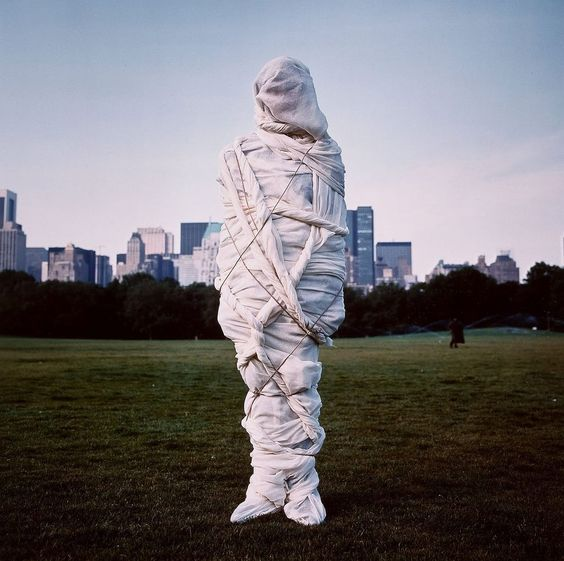 Christo by Annie Leibovitz.