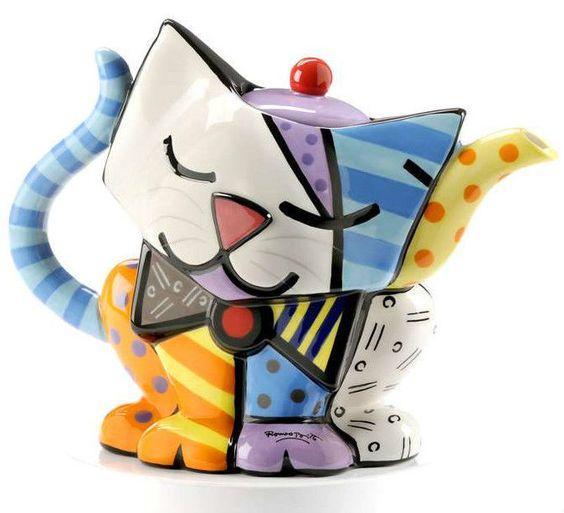 Tea Pot kitty