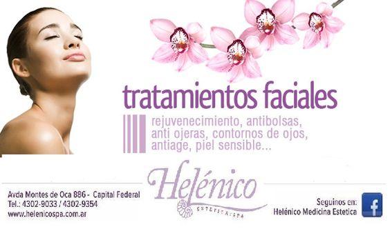 Todos los tratamientos faciales ideados para VOS!!!