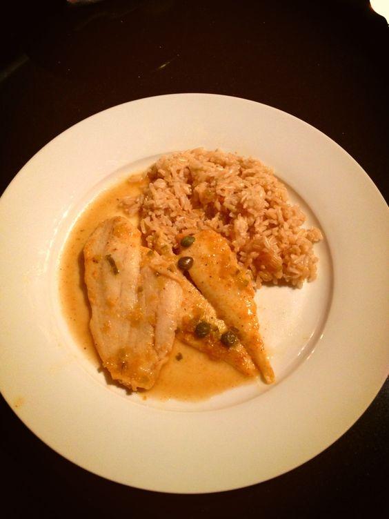 Asian Fish and Rice