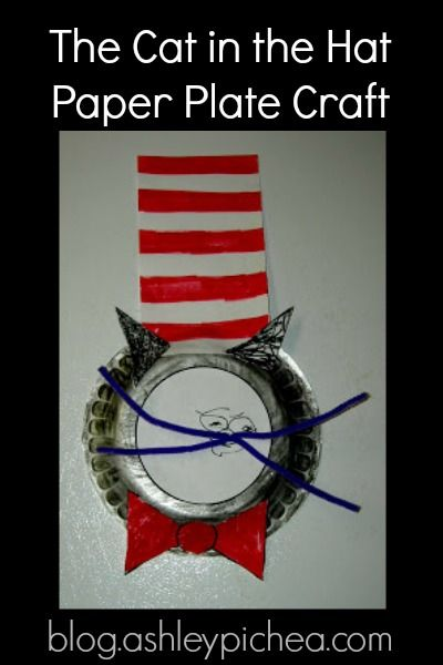 ... paper plate dr seuss cat in the hat kid craft cat craft and the world s ...  sc 1 st  About Of Crafts & paper plate dr seuss cat in the hat kid craft cat craft and - paper ...