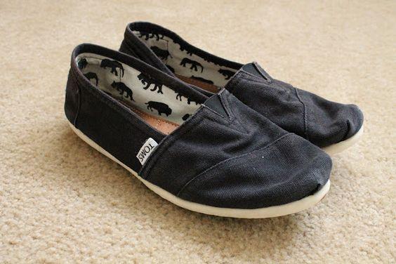 DIY Toms Sandals!
