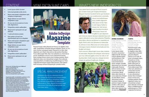 Magazine layout templates free exclusive adobe indesign for Adobe indesign magazine templates free download