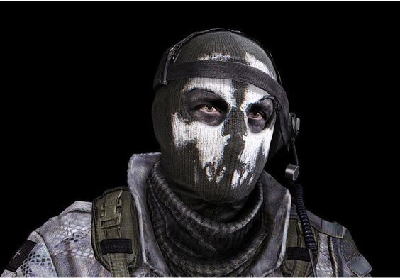 Full Face Mask, Airsoft And Call Of Duty On Pinterest
