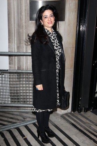 Princess Badiya bint El Hassan at BBC Radio 2 Studios, London, Britain - Jan 28th, 2014