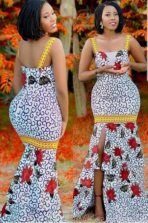 This African Ankara designed for elegant women