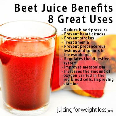 taking beet juice to lower blood pressure