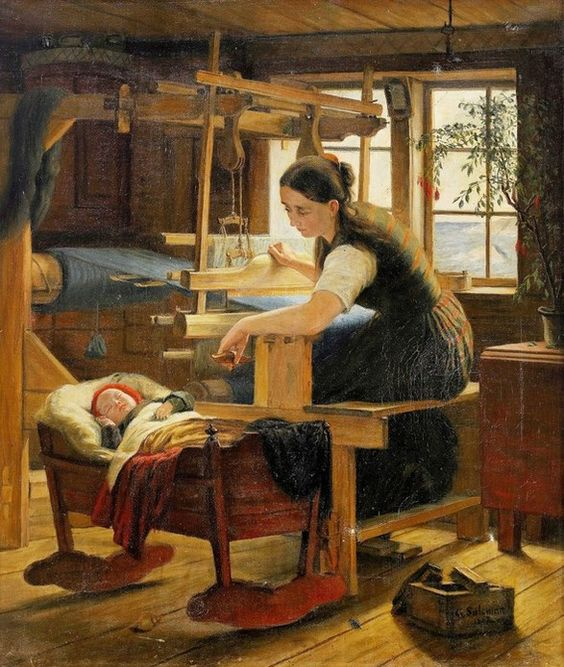 Elisabeth Blomqvist. Gunn. 1854