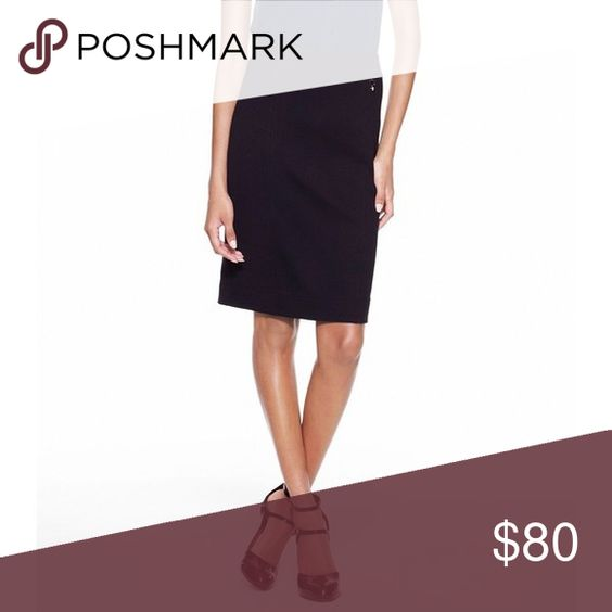 Tory Burch Beverly New Milano Skirt Gorgeous and classic pencil skirt with 100% wool knit! Elastic waistband. Small gold Tory Burch hardware logo near waist. Brand new with tag! Tory Burch Skirts Pencil