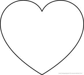 Herz Ausmalbilder Ausmalbilder Clipart Kostenlos Herzschablone Herz Ausmalbild