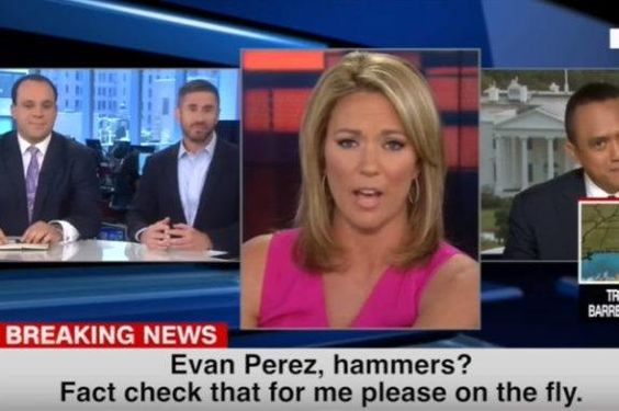 Clinton News Network Anchor Stunned to Learn Hillary Staffers Destroyed Her Mobile Devices With Hammers (VIDEO)