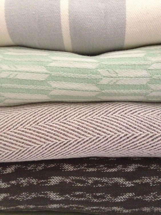 pretties- Didymos Standard Grey Stripes, Ovolo Fletching Jade, Didy Lisca Pastel, Girasol Charcoal Ikat