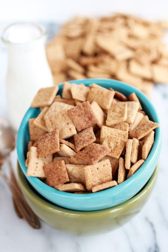 Homemade Cinnamon Toast Crunch halfbakedharvest.com - a must!