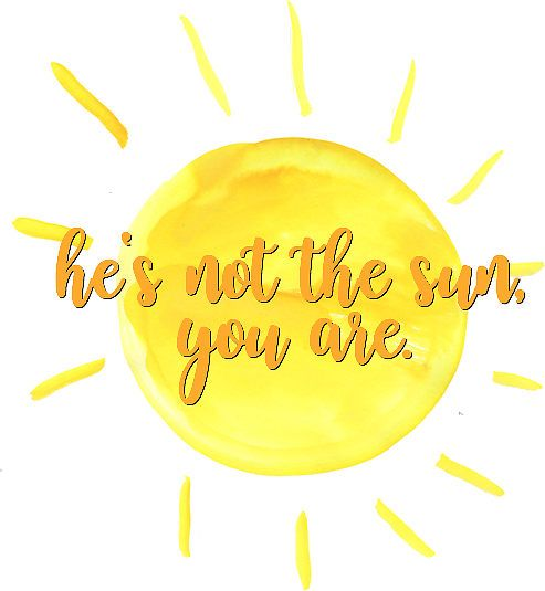 He Is Not The Sun