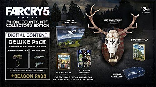 Far Cry 5 Hope County Mt Collector S Edition Ps4 Sony Playstation 4 2018 Ubisoft Far Cry 5 Ubisoft Crying