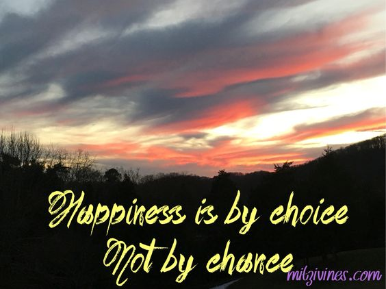 Don't leave your happiness in somebody else's hands. You are the only one that has total control of that!!! #ChooseHappiness