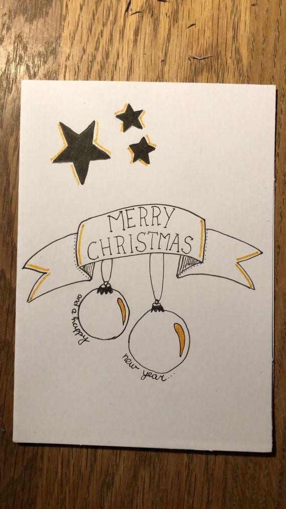 Easy Christmas Cards For Kids To Make On A Budget Kerst Kaarten Kerst Kerst Knutselen