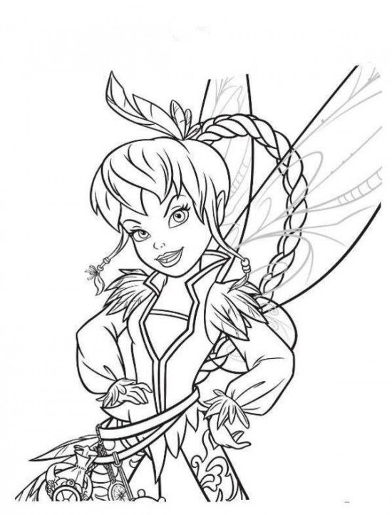 the pirate fairy coloring pages - free tinker bell and the pirate fairy coloring pages