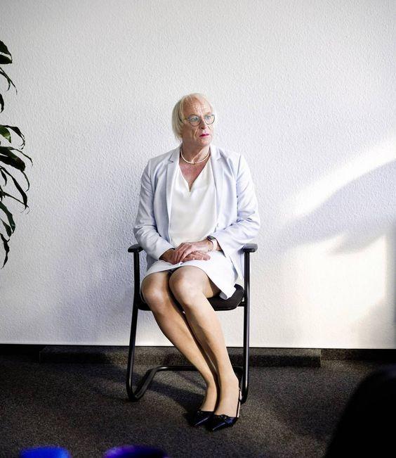 Kellermann en la sede de la cadena WDR en Essen, al oeste de Alemania. MICHAEL ENGLERT (FOCUS / CONTACTO)