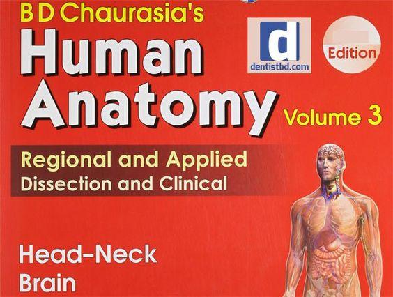 human anatomy chaurasia pdf