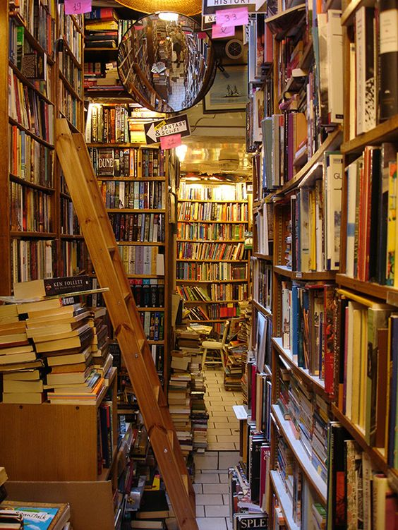 9 Awe-Inspiring Bookstores Around the World - 6. The Abbey Bookshop in Paris, France. ... http://scotfin.com/ says, Gets my allegiance in Paris as the Canadian version of Shakespeare and Company.:
