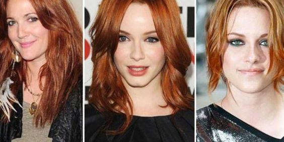 De uns tempos pra cá o cabelo ruivo passou a fazer, literalmente, a cabeça das mulheres antenadas....