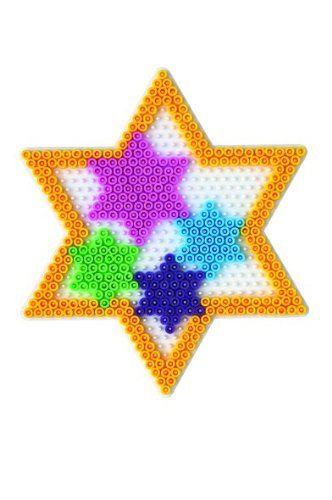 Stern Star Hama Bügelperlen