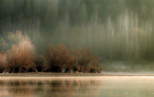 The morning haze by Martin Sprusansky