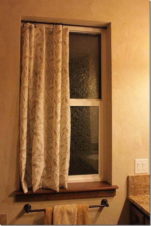 Diy Tutorial Bathroom Windows And Window Frames On Pinterest