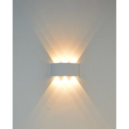 Applique Design Aluminium Blanc Led Integree Lussiol Squeezy Applique Murale Leroy Merlin Parement Mural Luminaire