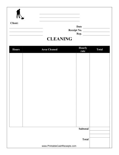 This Carpet Cleaning Receipt can be used by a carpet cleaning - company receipt