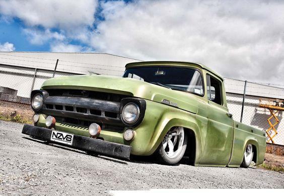 Ground hog: 1957 Ford F100