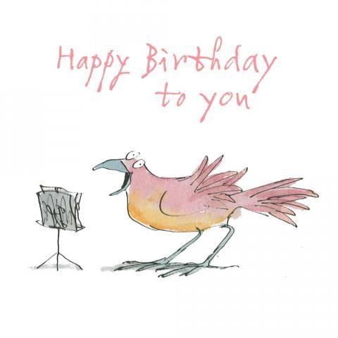 Happy Birthday To You Happy Birthday Illustration Birthday Illustration Quentin Blake
