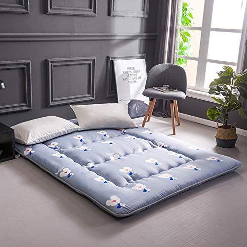 Redsun Foldable Tatami Floor Mat Sleeping Thick Soft Polyester