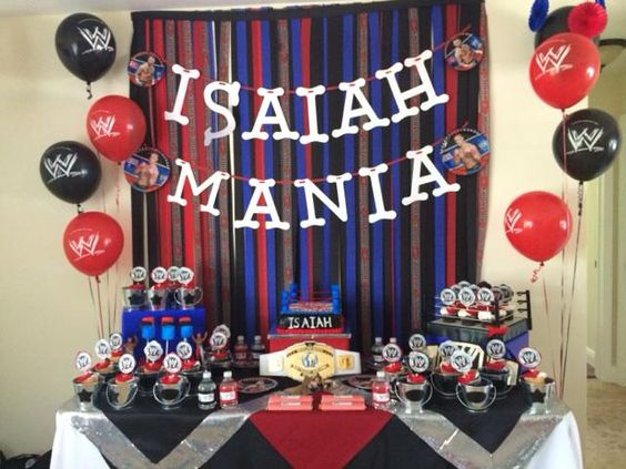 Wwe birthday party