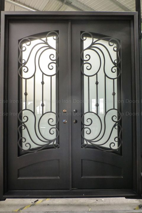 72 X 96 Entry Iron Door Custom Wrought Iron Doors Wholesale