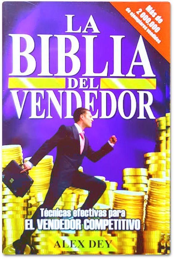 Libro PDF, La biblia del vendedor, Alex Dey