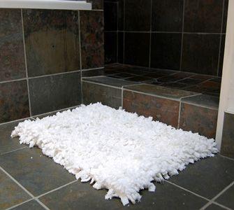 T Shirt Rug Bath Mat