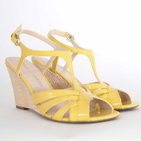 Franco Sarto Gable Wedge in Sunflower $79.00