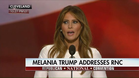 """""""On July 28, 2006, I was very proud to become a citizen of the United States – the greatest privilege on planet Earth.""""  Melania Trump, wife of presumptive GOP nominee Donald J. Trump, spoke about her pathway to U.S. citizenship and thanked veterans who protect the freedoms we enjoy as Americans. http://bit.ly/29JCz8c"""