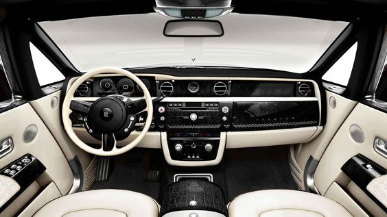 Bijan Phantom Rolls Royce edition in Black and White.
