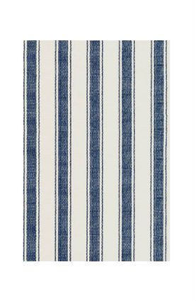 Ticking stripes hit the floor in this 100-percent cotton rug. ($30 for 2'x3', wayfair.com)   - CountryLiving.com